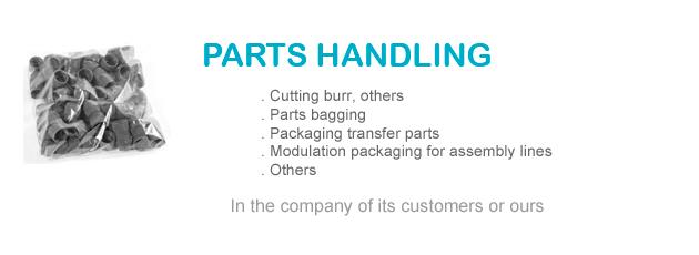 Parts handling